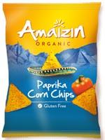 Amaizin Paprika Corn Chips Organic