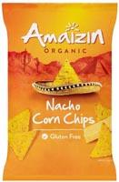 Amaizin Nacho Corn Chips Organic 150g