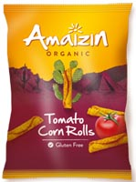 Amaizin Tomato Cornrolls Organic