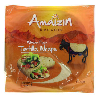 Amaizin Tortilla Wraps Organic
