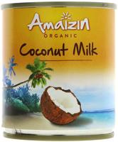 Amaizin Coconut Milk Organic 200ml