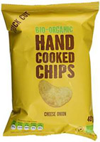 Trafo Cheese & Onion Hand Cooked Crisps Organic
