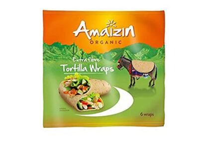Amaizin Tortilla Wraps Extra Fibre Organic