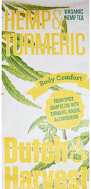 Dutch Harvest Hemp & Turmeric Tea Organic