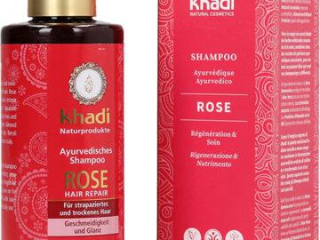 Khadi Rose Ayurvedic Shampoo