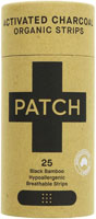 Patch Hypoallergenic Black Bamboo Strips Organic