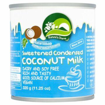 Nature's Charm Sweetened Condensed Coconut Milk