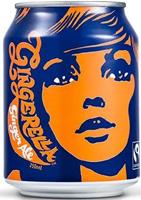 Karma Cola Gingerella Ginger Ale Can