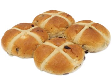 Authentic Bread Co. Hot Cross Buns Organic