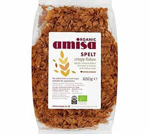 Amisa Spelt Crispy Flakes Organic 250g
