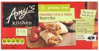 Amy's Gluten Free Cheddar, Rice & Bean Burrito
