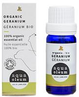 Aqua Oleum Julia Lawless Geranium Essential Oil Organic