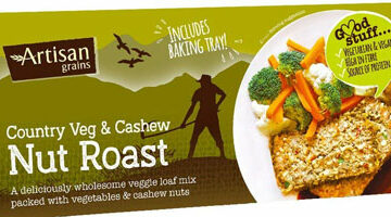 Artisan Grains Country Vegetable & Cashew Nut Roast