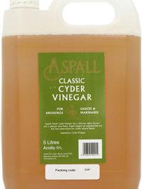 Aspall Cyder Vinegar Organic Raw Unpasteurised ~ 5 litre