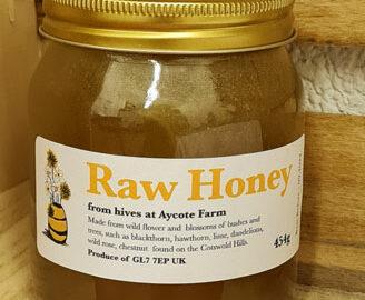 Aycote Farm Locally Produced Raw Set Honey