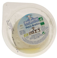 Bergerie Petit Brebis Mild Soft Sheeps Cheese Organic