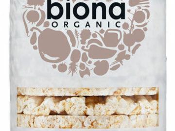 Biona Rice Cakes No Salt Organic