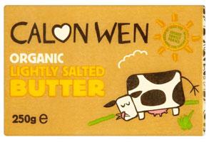 Calon Wen Welsh Butter Lightly Salted Organic 250g