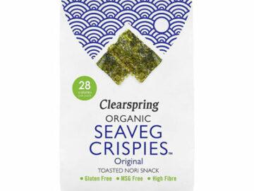 Clearspring Seaveg Crispies Original