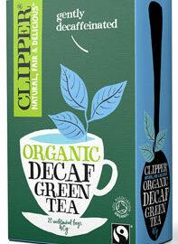 Clipper Decaf Green Tea Organic Fairtrade