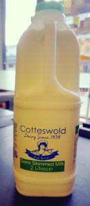 Cotteswold Dairy Semi Skimmed Milk 2L