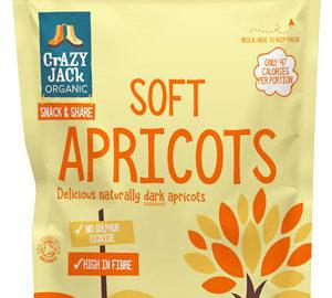 Crazy Jack Soft Dried Apricots Organic