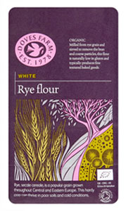 Doves Farm White Rye Flour Organic