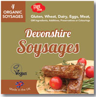 Dragonfly Devonshire Soysages Organic