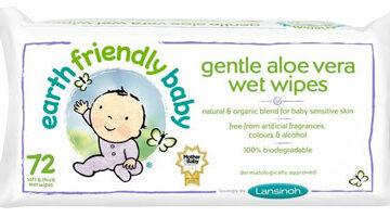 Earth Friendly Baby Gentle Aloe Vera Eco Baby Wipes