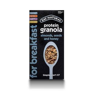 Eat Natural Almonds Seeds & Honey Super Protein Granola