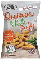 Eat Real Jalapeno & Cheddar Quinoa & Kale Puffs