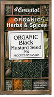 Essential Black Mustard Seed Organic