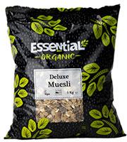 Essential Deluxe Muesli Organic 1kg