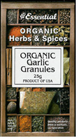 Essential Garlic Granules Organic