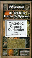 Essential Ground Coriander Organic