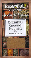 Essential Ground Nutmeg Organic