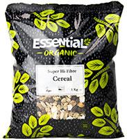 Essential Super Hi-Fibre Cereal Organic 1kg