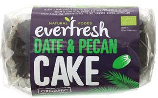 Everfresh Date & Pecan Cake Organic
