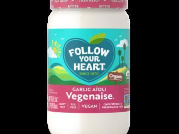 Follow Your Heart Garlic Aioli Organic