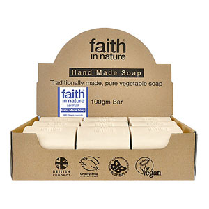 Faith in Nature Lavender Soap Unwrapped