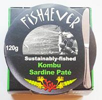 Fish 4 Ever Kombu Sardine Paté