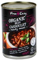 Free & Easy Bean Cassoulet Ready Meal Organic