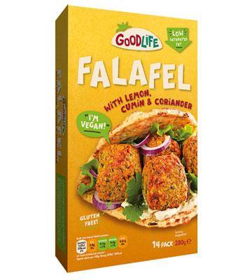 Goodlife Falafel With Chickpea, Lemon, Cumin & Coriander
