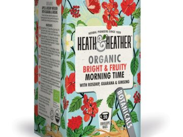 Heath & Heather Energising Morning Time Super Tea Organic