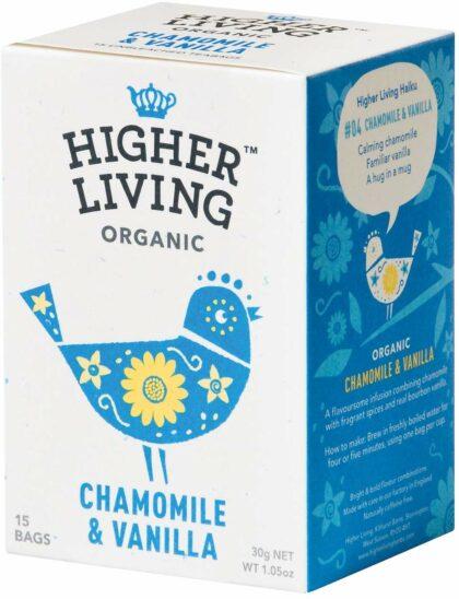 Higher Living Chamomile & Vanilla Organic