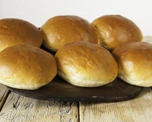 Hobbs House Bakery Brioche Buns (x6)