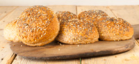 Hobbs House Bakery Wholemeal Rolls Seeded