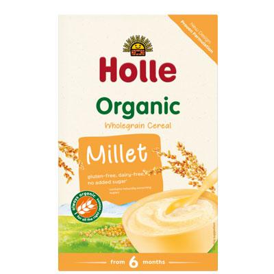 Holle Wholegrain Millet Cereal Porridge Organic
