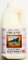 Jess's Ladies Cultured Buttermilk Organic