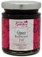 Kitchen Garden Raspberry Jam Organic
